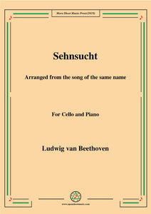 Beethoven-Sehnsucht,for Cello and Piano