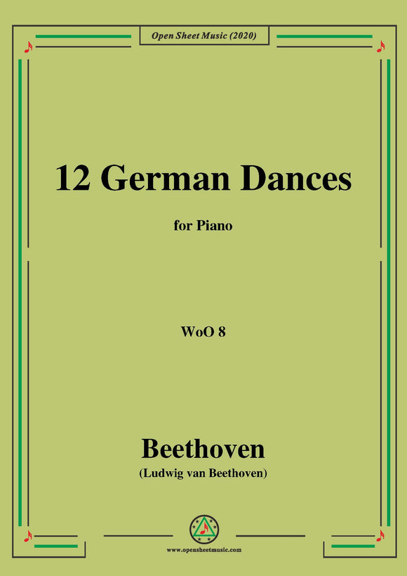 Beethoven-12 German Dances,WoO 8