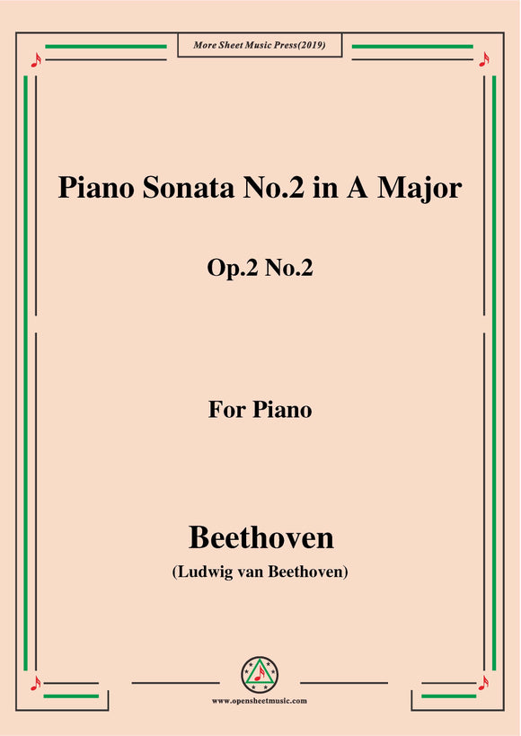 Beethoven-Piano Sonata No.2