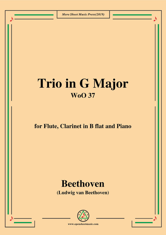 Beethoven-Trio in G Major,WoO 37