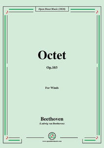 Beethoven-Octet in E flat Major,Op.103