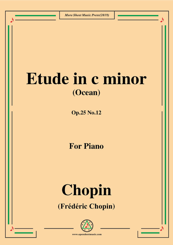 Chopin-Polonaise,in A flat Major,B.5,for Piano