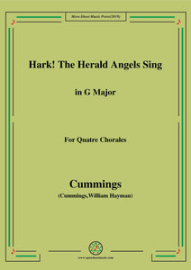 Cummings-Hark! The Herald Angels Sing,for Quatre Chorales