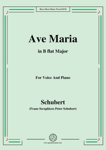 Schubert-Ave maria
