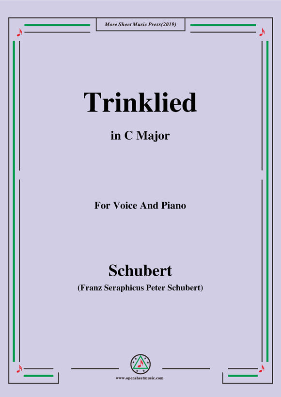 Schubert-Trinklied