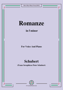 Schubert-Romanze