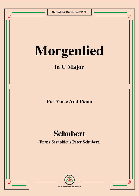 Schubert-Morgenlied