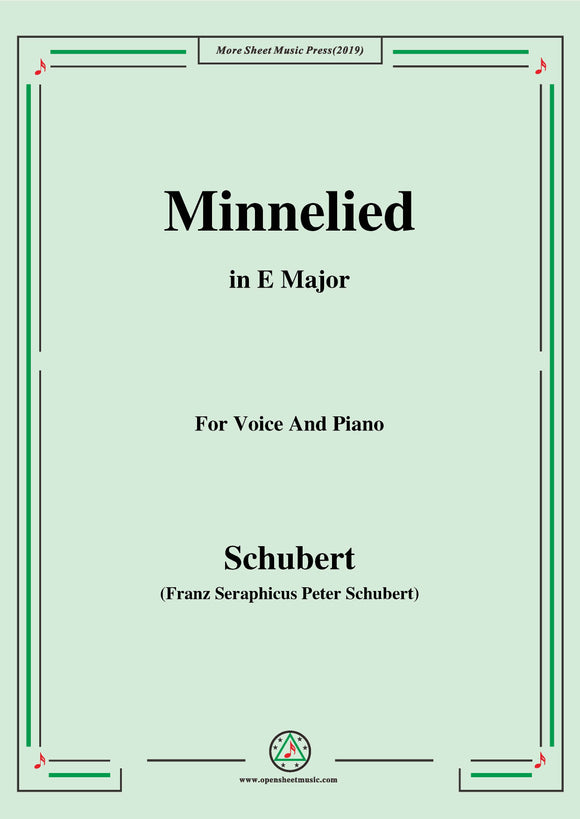 Schubert-Minnelied