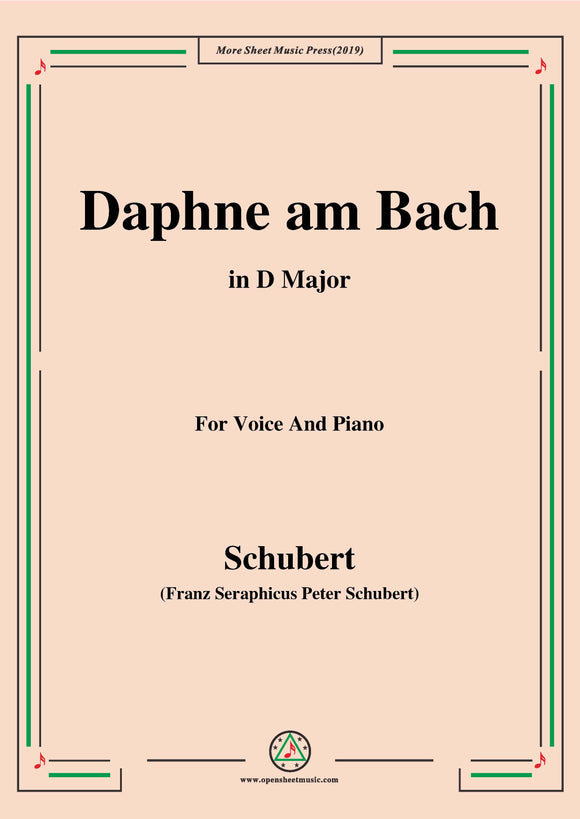 Schubert-Daphne am Bach