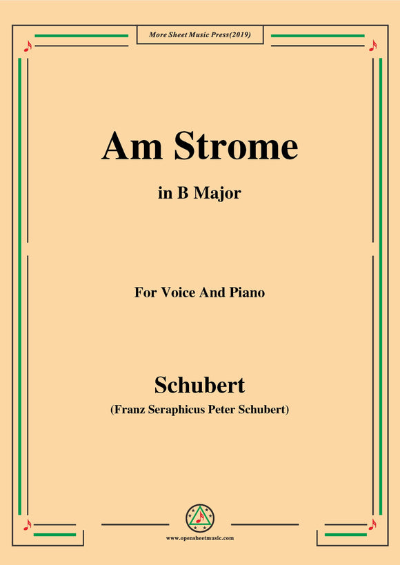 Schubert-Am Strome,Op.8 No.4