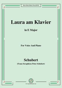Schubert-Laura am Klavier(Laura at the Piano),1st version,D.388