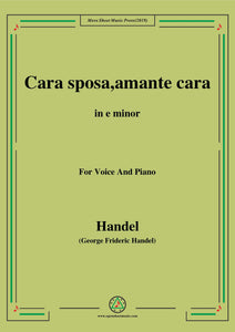 Handel-Cara sposa,amante cara(Version II),from 'Rinaldo'