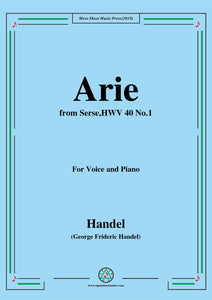 Handel-Arie,from Serse,HWV 40,No.1