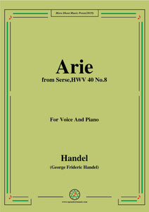 Handel-Arie,from Serse HWV 40 No.8
