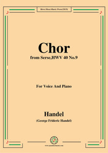 Handel-Chor,from Serse HWV 40 No.9