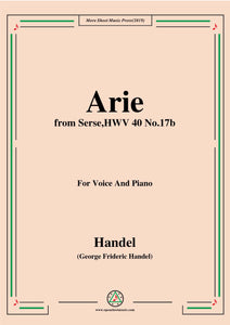 Handel-Arie,from Serse HWV 40 No.17b