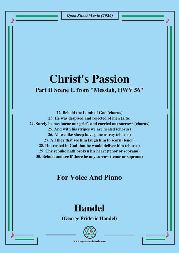 Handel-Messiah,HWV 56,Part II,Scene 1