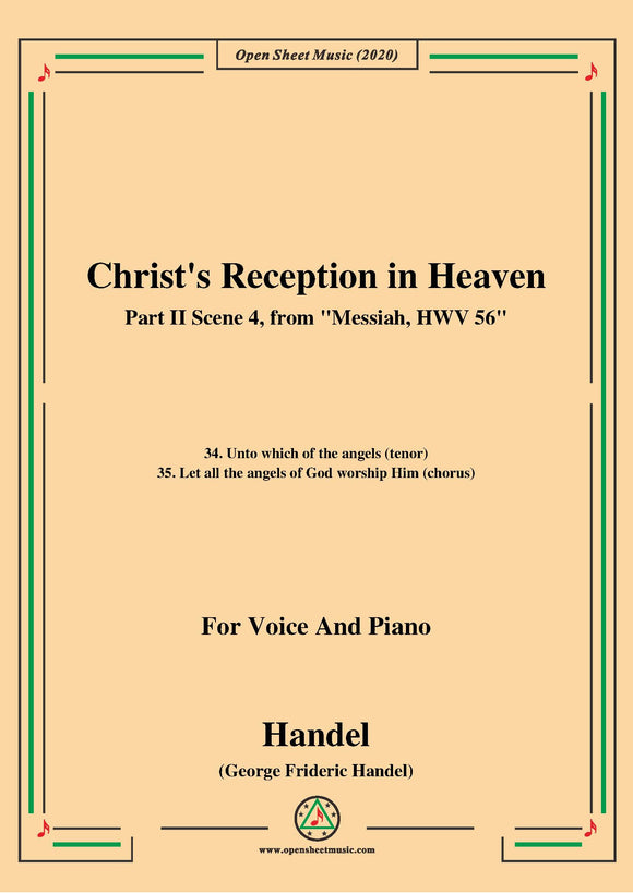 Handel-Messiah,HWV 56,Part II,Scene 4