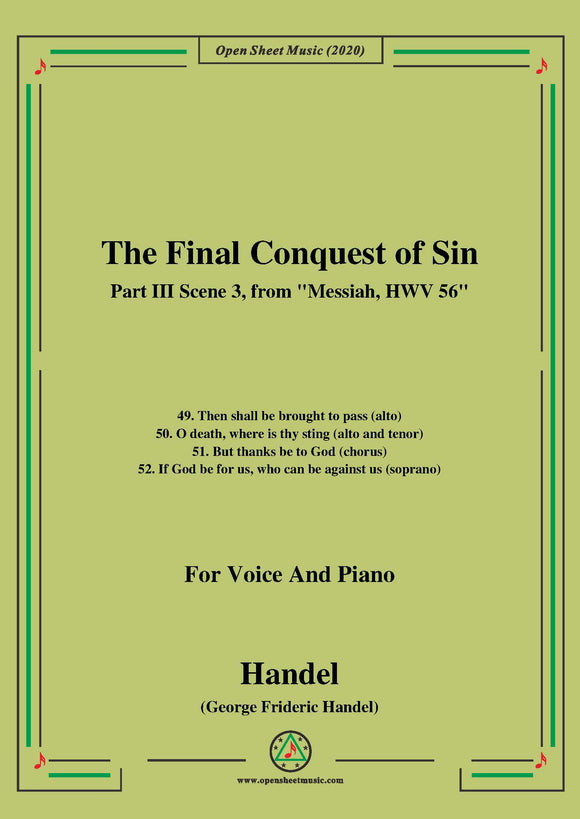 Handel-Messiah,HWV 56,Part III,Scene 3