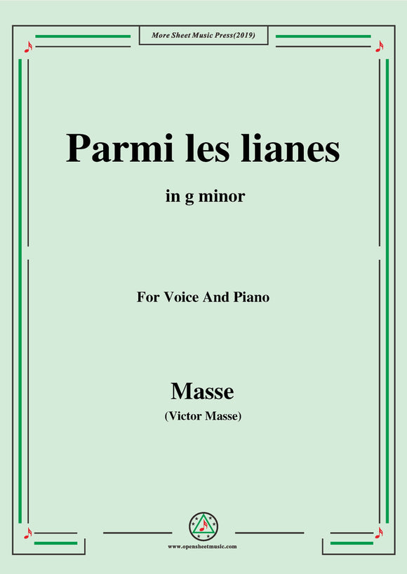 Masse-Parmi les lianes,from 'Paul et Virginie'
