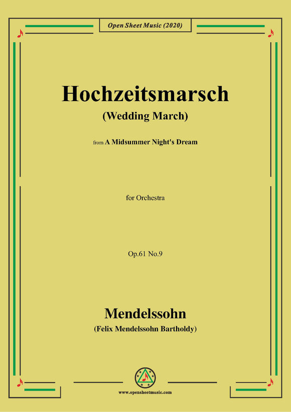 Mendelssohn-Hochszeitmarsch(Wedding March)