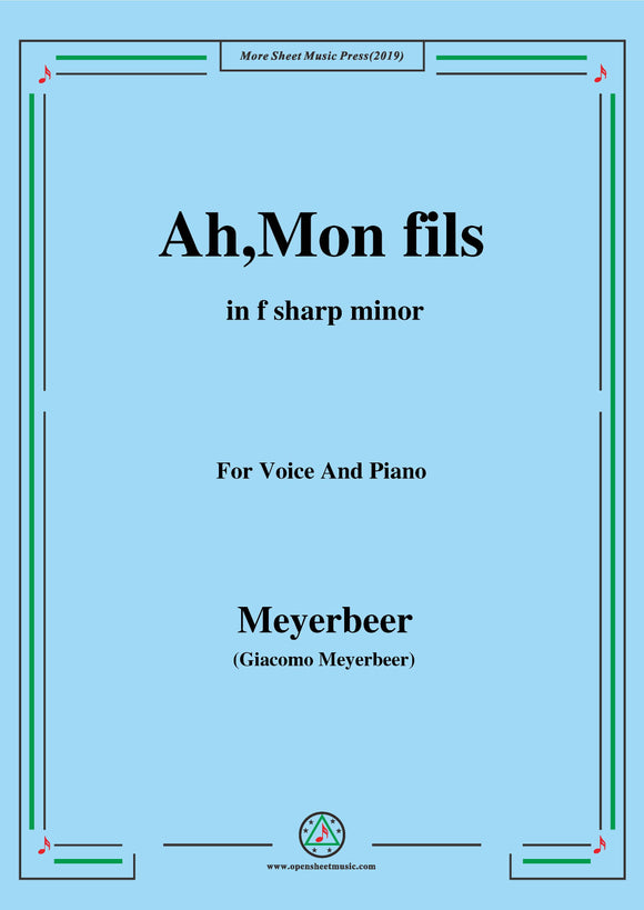 Meyerbeer-Ah,Mon fils from 'Le Prophète'