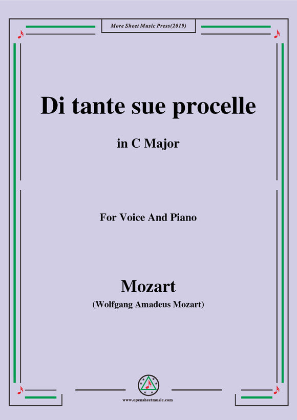 Mozart-Di tante sue procelle,from 'Il Re Pastore'