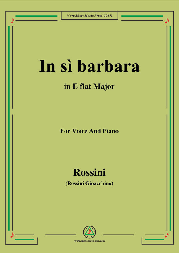 Rossini-In sì barbara,from 'Semiramide'