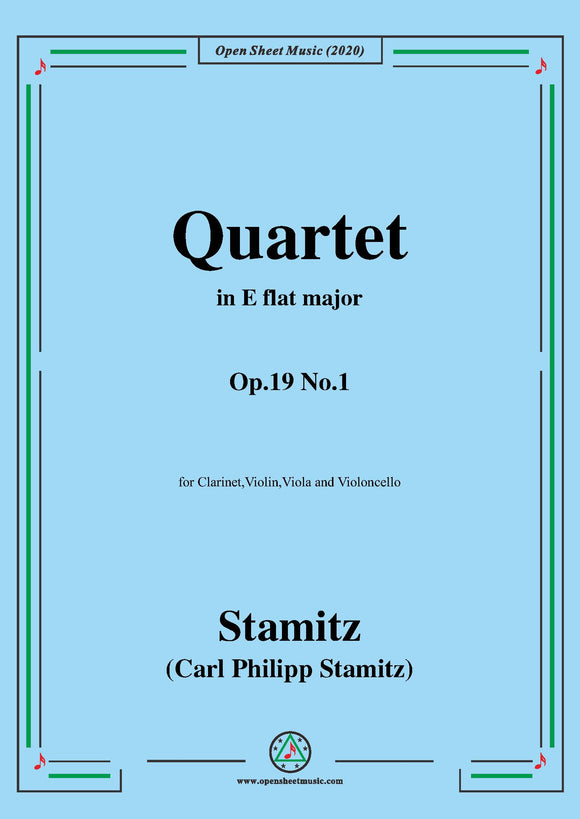 Stamitz-Quartet in E flat Major,Op.19 No.1