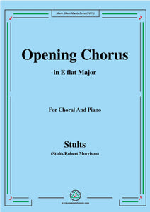 Stults-The Story of Christmas,No.1,Opening Chorus,Christmas Chimes,for Choral and Piano