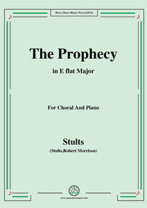 Stults-The Story of Christmas,No.2,The Prophecy,Behold the Days Shall Come,for Choral and Piano