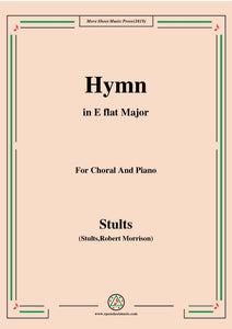Stults-The Story of Christmas,No.3,Hymn,Of the Fathers Love Begotten,for Choral and Piano