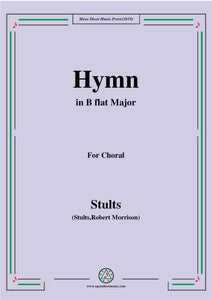 Stults-The Story of Christmas,No.5,Hymn,While Shepherds Watched Their Flocks,for Choral