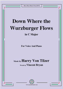Harry Von Tilzer-Down Where the Wurzburger Flows