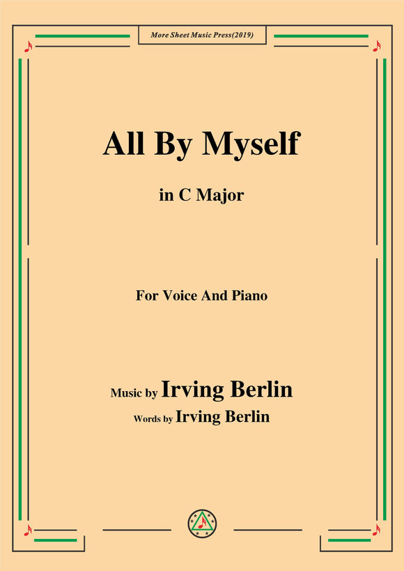Irving Berlin-All By Myself
