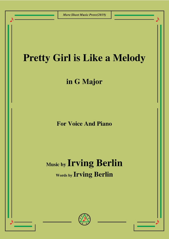 Irving Berlin-Pretty Girl is Like a Melody