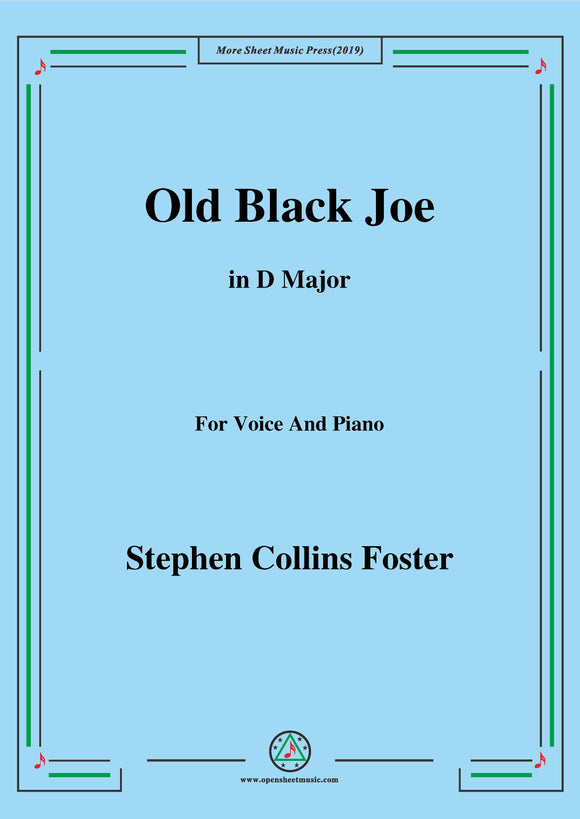 Stephen Collins Foster-Old Black Joe