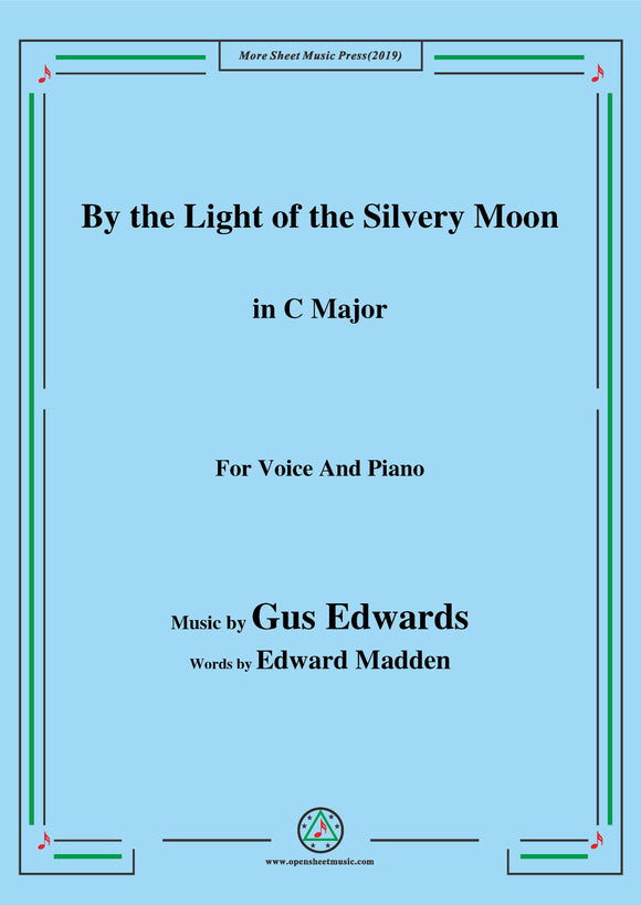 Gus Edwards-By the Light of the Silvery Moon