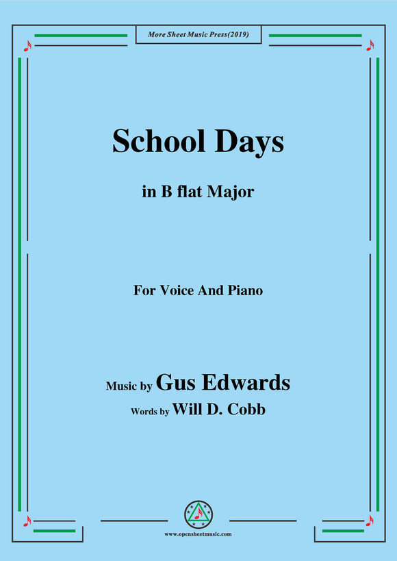 Gus Edwards-School Days