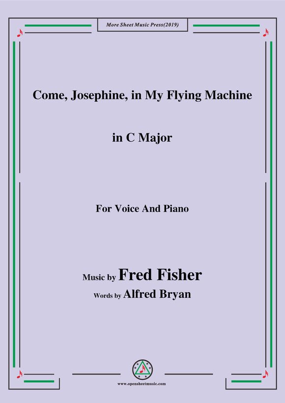 Fred Fisher-Come,Josephine,in My Flying Machine