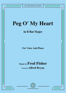 Fred Fisher-Peg O' My Heart
