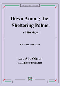Abe Olman-Down Among the Sheltering Palms