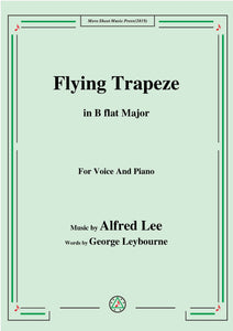 Alfred Lee-Flying Trapeze