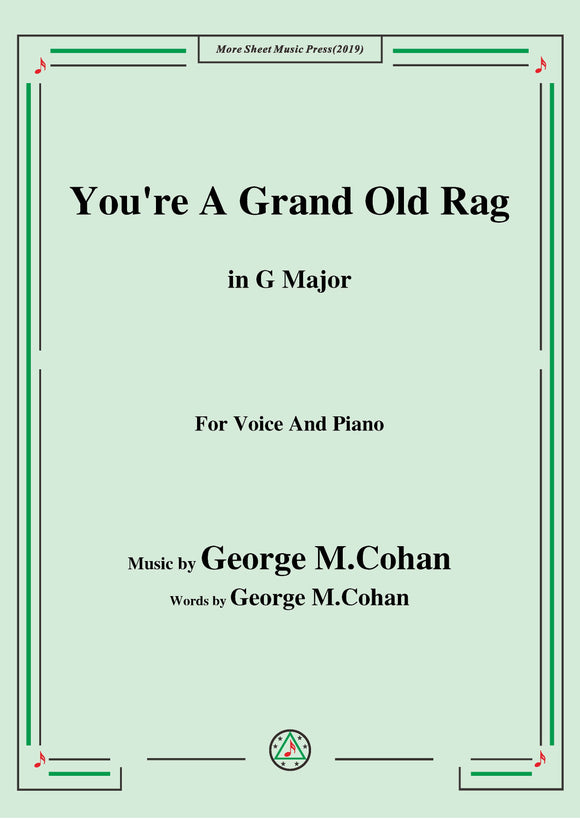 George M. Cohan-You're A Grand Old Rag