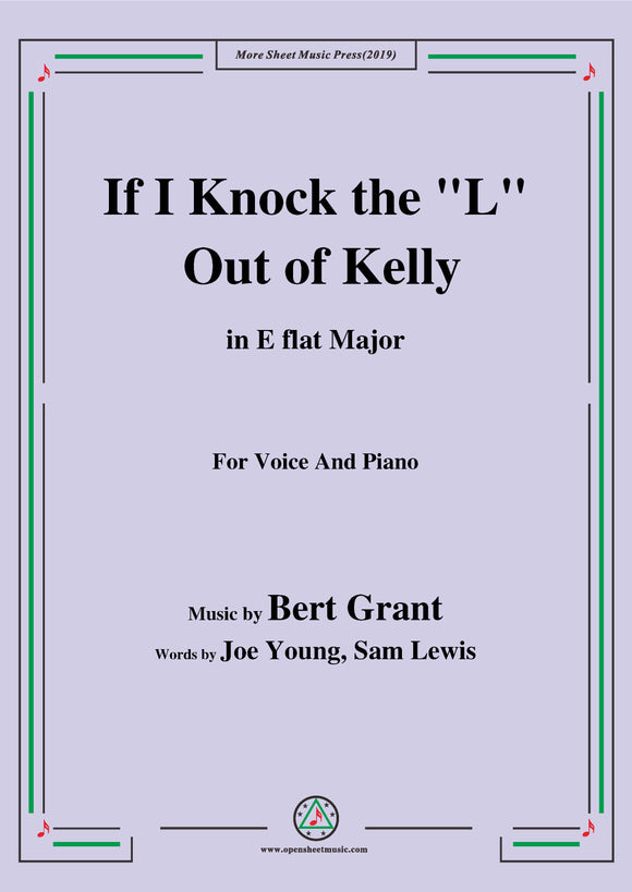 Bert Grant-If I Knock the 'L' Out of Kelly