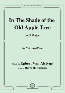 Egbert Van Alstyne-In The Shade of the Old Apple Tree