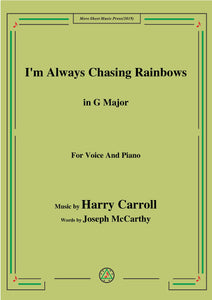 Harry Carroll-I'm Always Chasing Rainbows