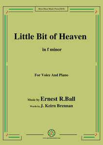 Ernest R. Ball-Little Bit of Heaven