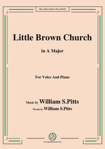 William S. Pitts-Little Brown Church