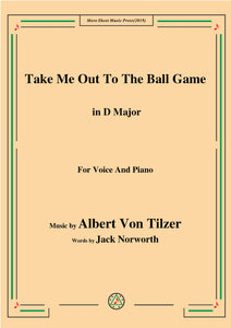 Albert Von Tilzer-Take Me Out To The Ball Game